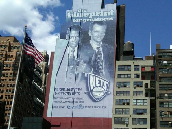 Nets/Gowalla Billboard